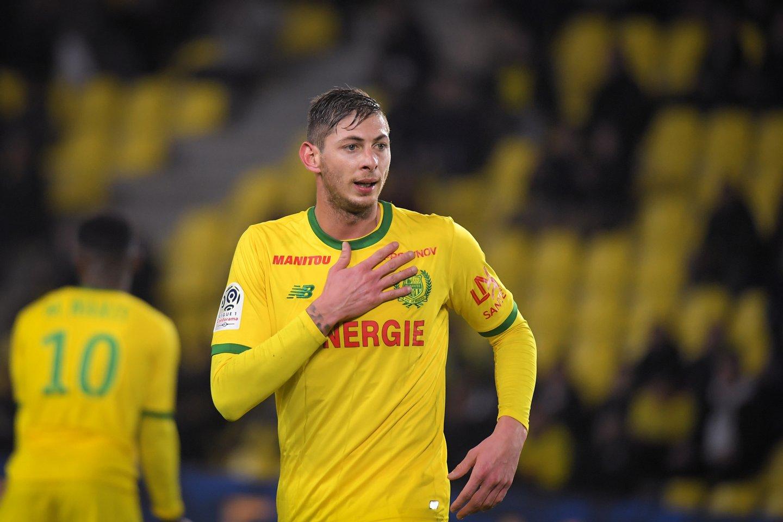 0ada824a7d Emiliano Sala no último jogo realizado em casa pelo Nantes