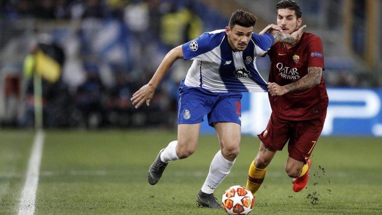 FC Porto perde em Roma por 2-1 mas continua com eliminatória em aberto nos  oitavos da Champions - como aconteceu 15d3c4c1de2c
