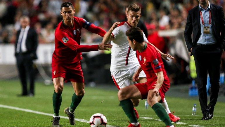 673948a92e6ed Portugal não vai além de um empate com a Sérvia e continua sem vencer no  apuramento para o Euro 2020 (1-1) - como aconteceu