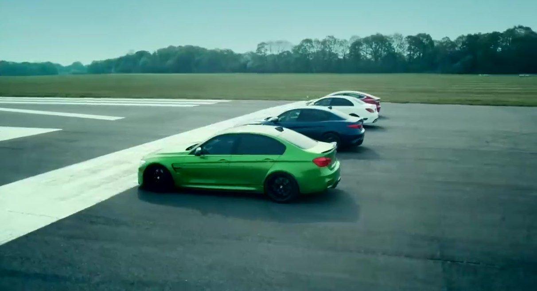Model 3 contra Giulia QF, BMW M3 e Mercedes C63S - Observador