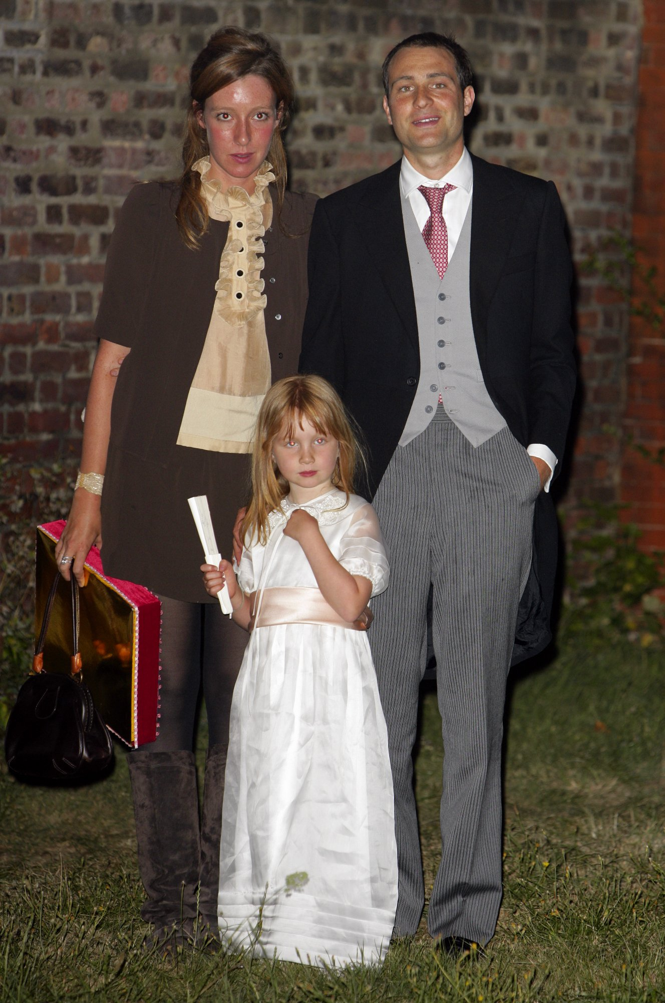Iris Annabel com os pais, Kate Rothschild e Ben Goldsmith, em 2009 © Indigo/Getty Images