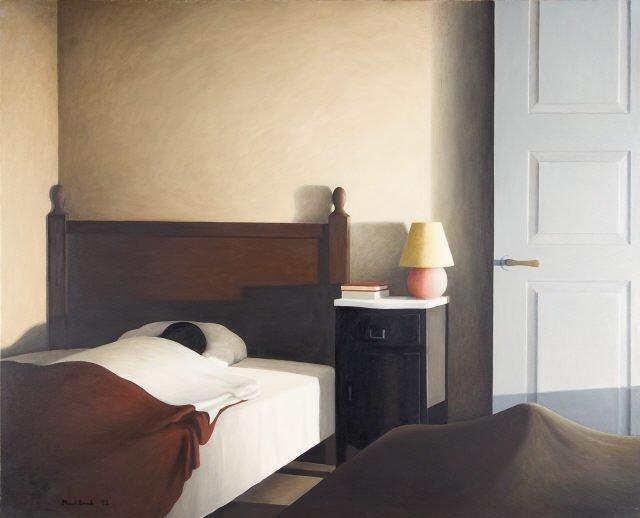 """""""Quarto interior"""" faz parte da Coleção Moderna da Fundação Calouste Gulbenkian"""