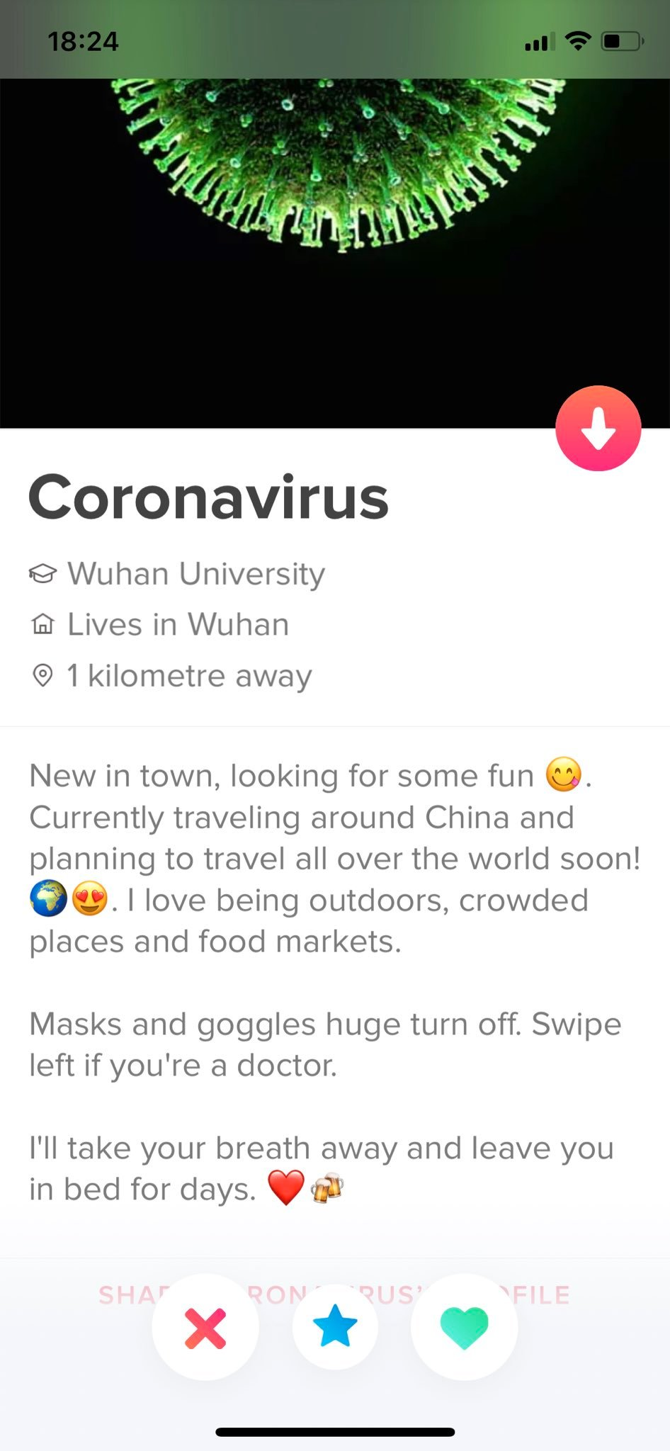 Love in coronavirus time. How is life on Tinder and other apps of ...