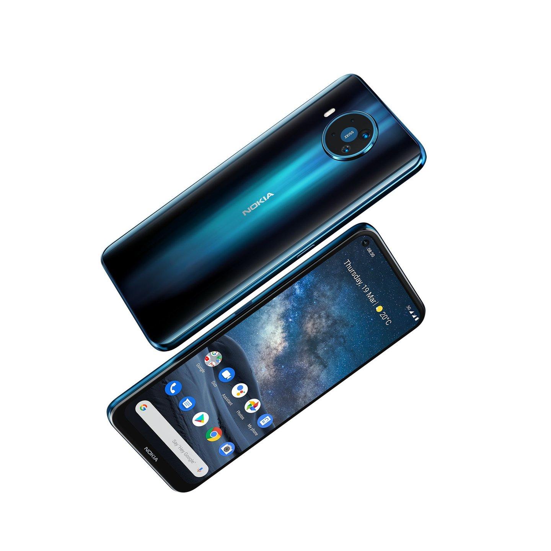 O Nokia 8.3 é o primeiro smartphone 5G da marca
