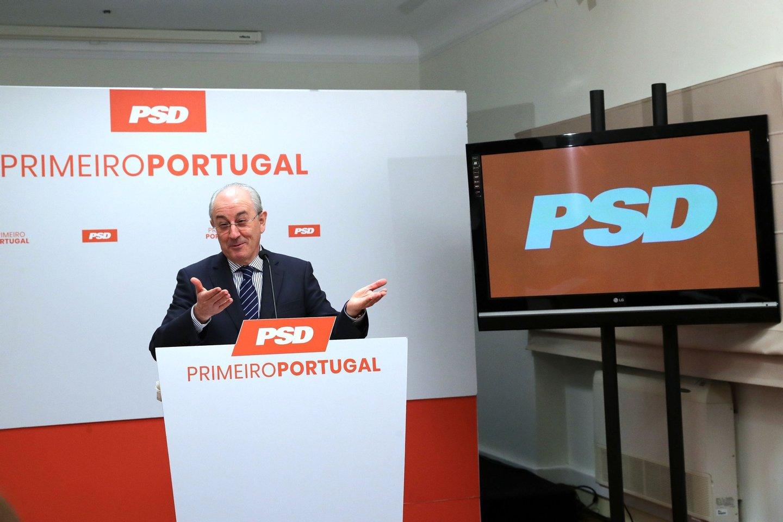 O presidente do PSD Rui Rio durante a sua comunicação sobre os contributos do partido para a área da economia no âmbito da atual situação de pandemia provocada pelo Covid-19, 06 abril 2020, Porto. ESTELA SILVA/LUSA