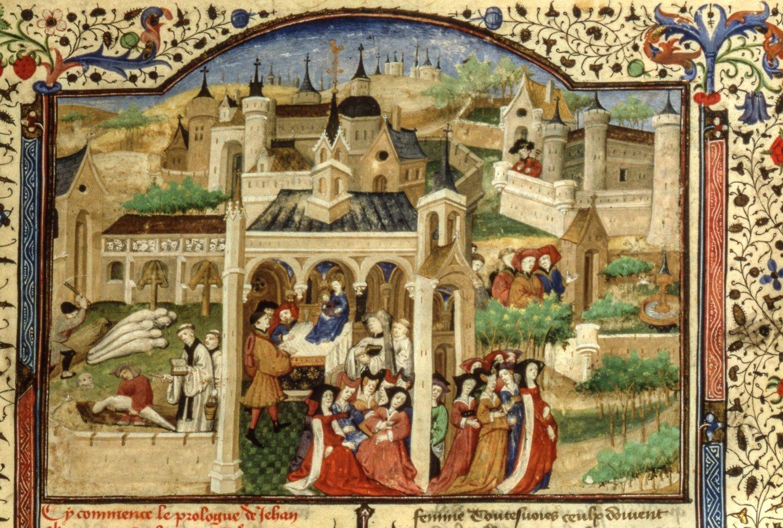 La peste à Florence