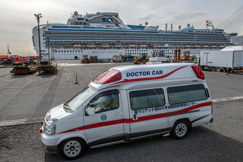 Japan Screens Cruise Ship Diamond Princess For The Wuhan Coronavirus