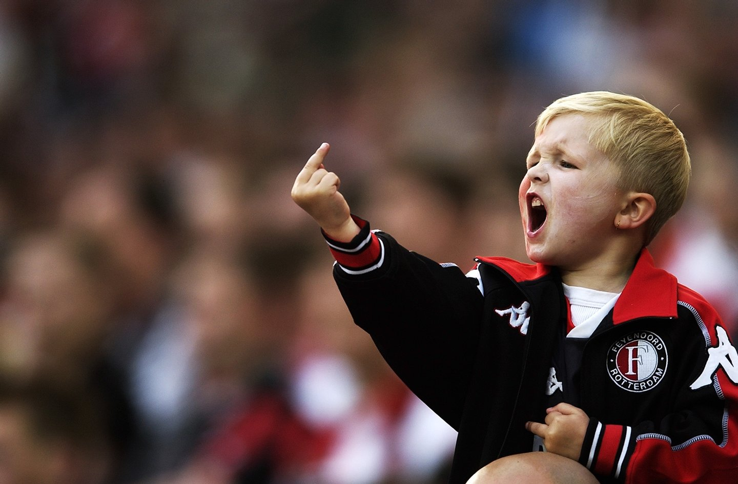 A young Feyenoord fan