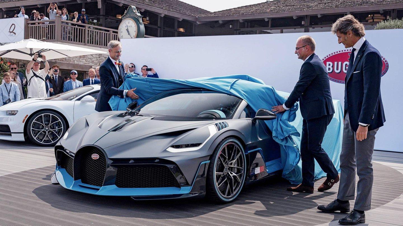 Quer Ver Como Sao Os Primeiros Bugatti Divo Observador