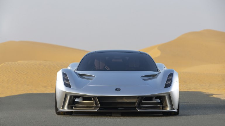 Evija has 2000 hp. Lotus says it has more assets