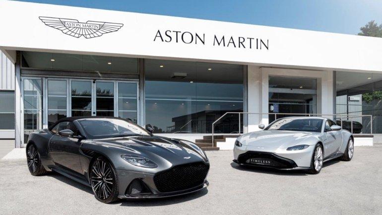 C. Santos VP stays with Aston Martin and Maserati