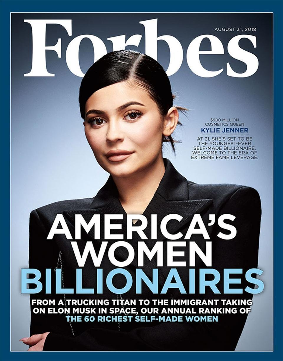 After the demotion of Forbes, the family drama. The story of Kylie Jenner, the ...