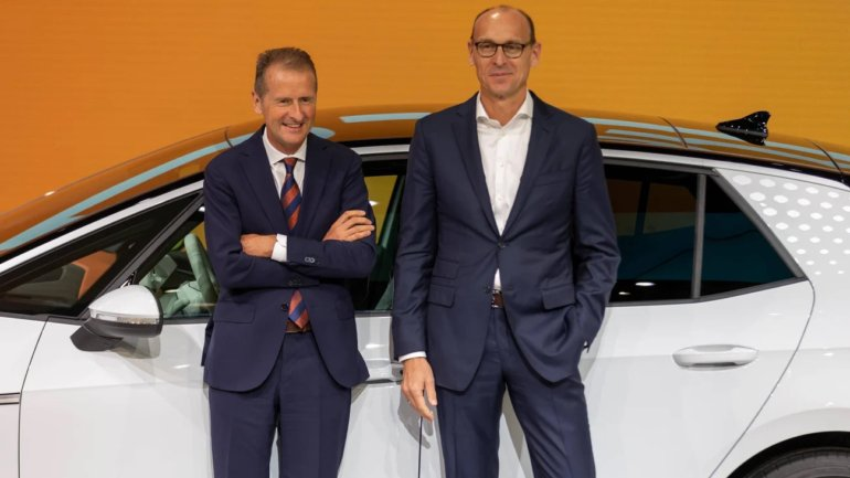 Brandstätter is the new head of VW and Diess rules everything