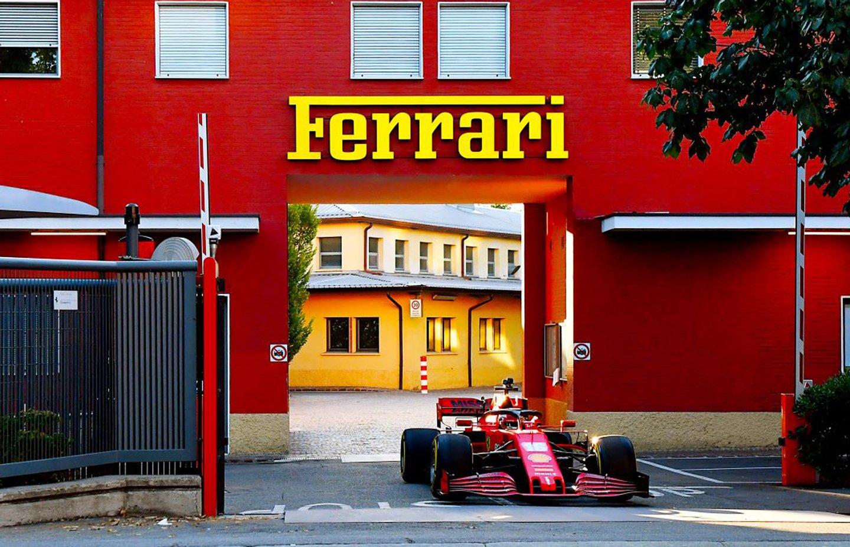 Leclerc Estreia Ferrari De F1 Nas Ruas De Maranello Observador