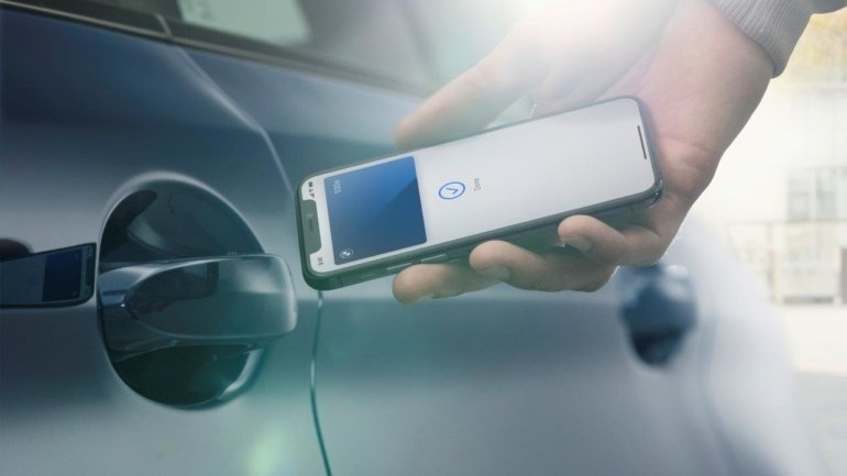 BMW will have digital key for iPhone