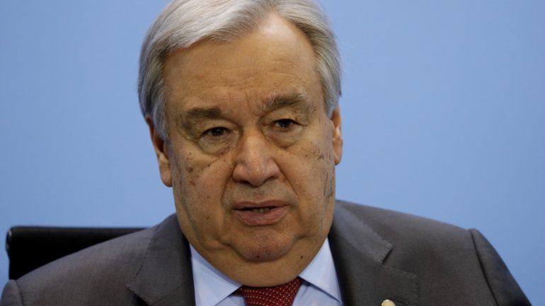 """António Guterres says that, in the most optimistic scenario, the world will return """"to..."""