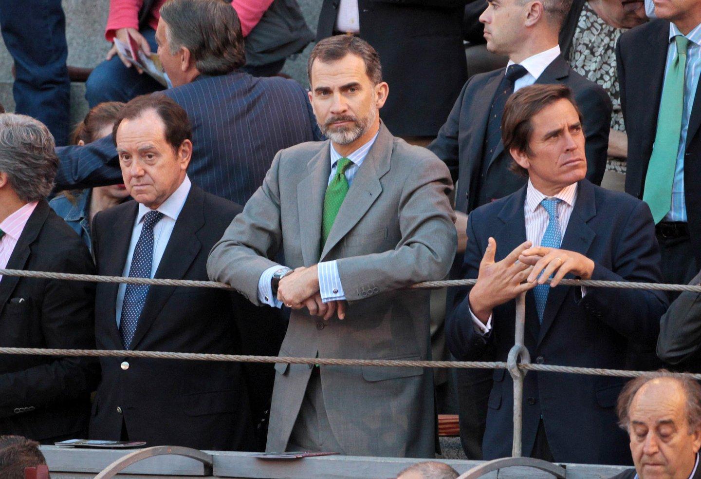 King Felipe VI of Spain Attends San Isidro Bullfighting Fair In Madrid