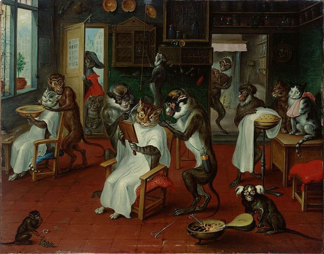 abraham_teniers_-_barbershop_with_monkey