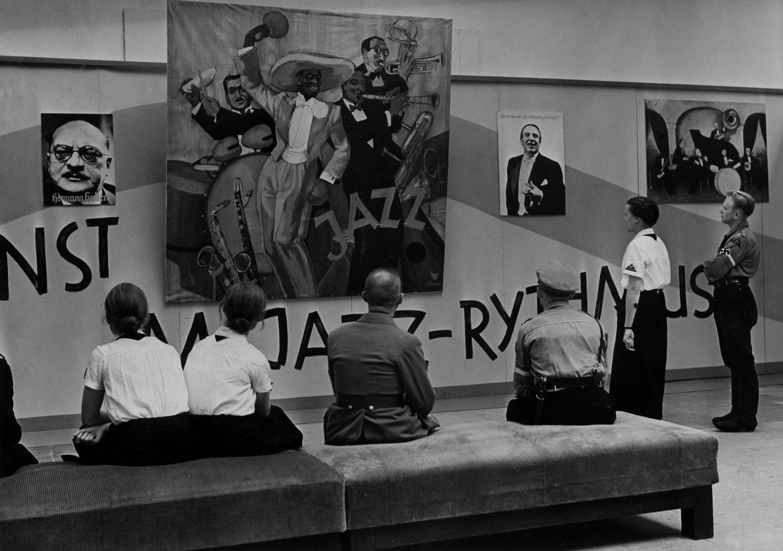 Germany, Third Reich: 'Degenerate music' exhibition in Düsseldorf