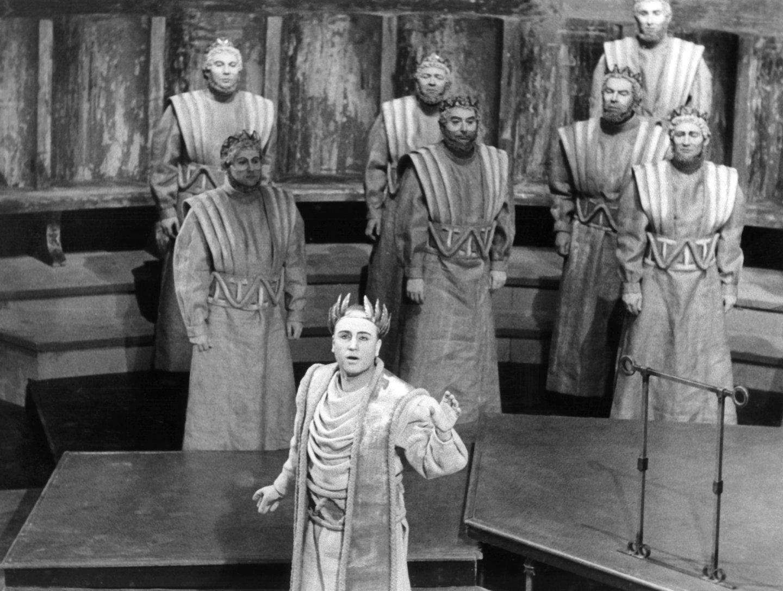 Oper - Oedipus der Tyrann