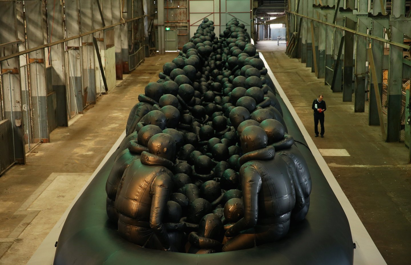 Chinese Ai Weiwei Unveils Artwork For 21st Biennale Of Sydney