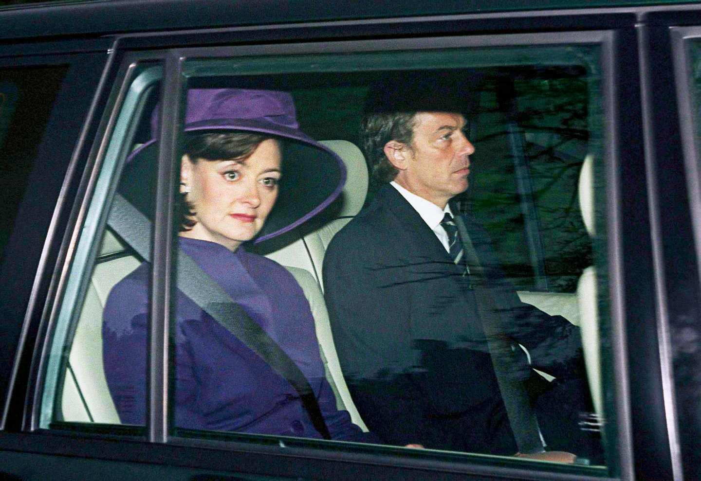 Tony Blair And Cherie