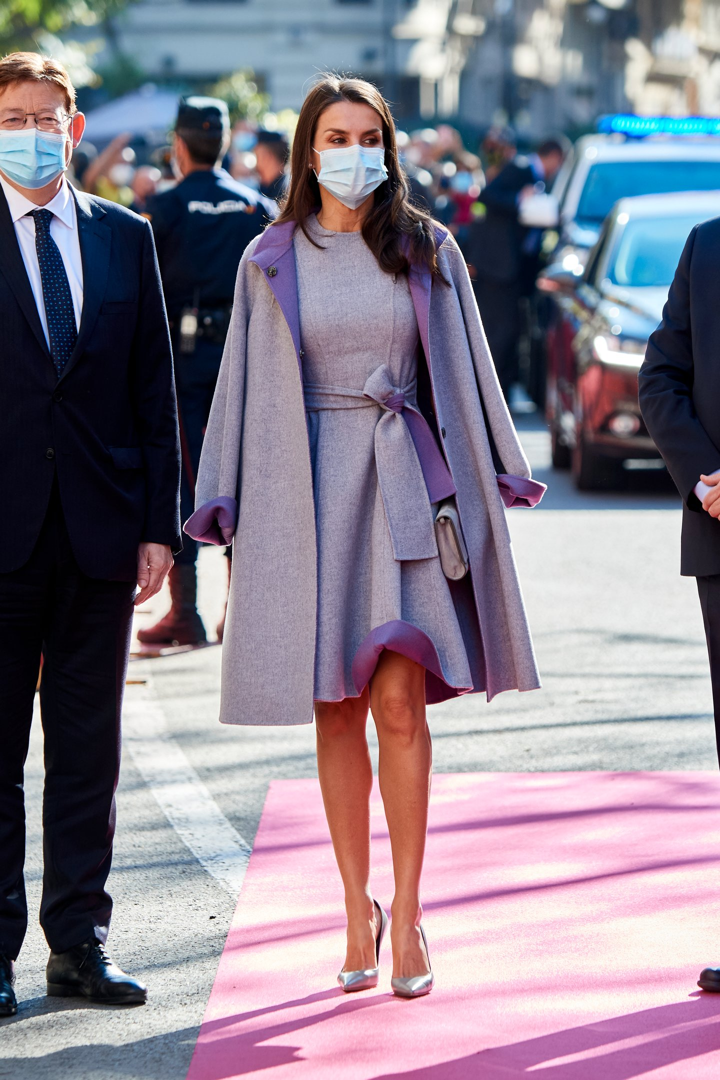 Queen Letizia Of Spain Arrives At The 'Jaume I' Awards In Valencia