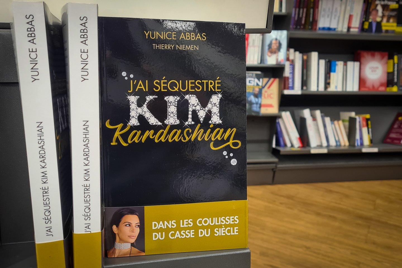 """J'Ai Sequestre Kim Kardashian"" Book By Yunice Abbas Released At Cultura"