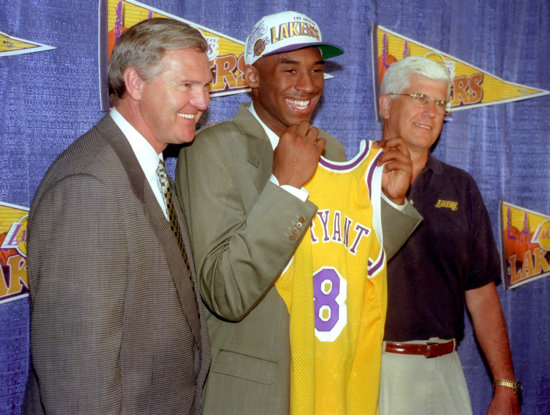 Los Angeles Lakers Introduce Kobe Bryant