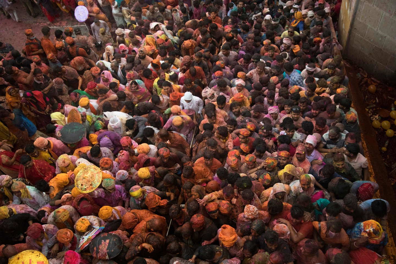 INDIA-RELIGION-HINDUISM-HOLI