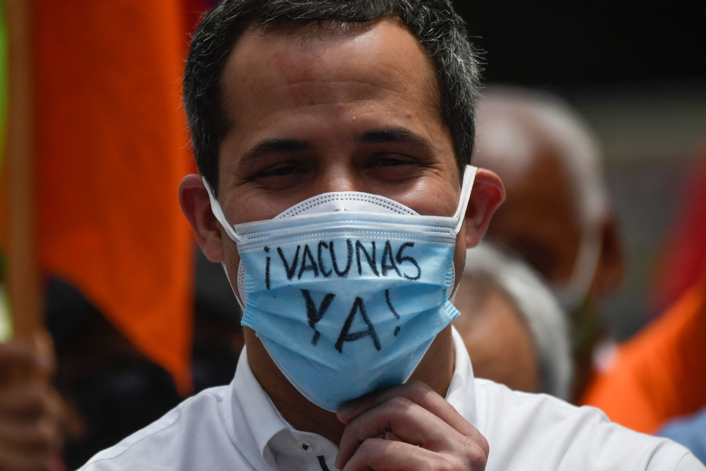 VENEZUELA-HEALTH-VIRUS-PROTEST-OPPOSITION-GUAIDO